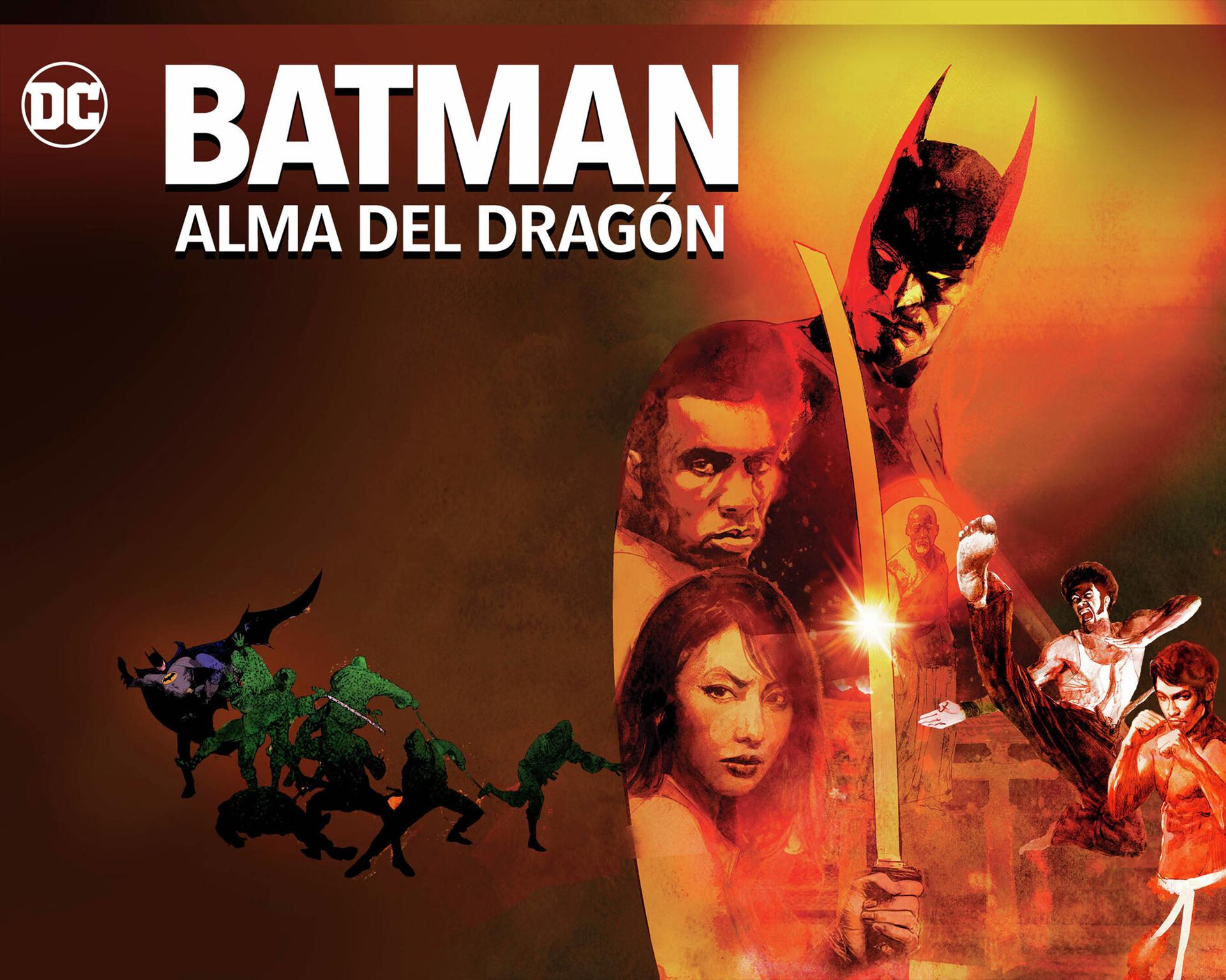 Batman, caballero de la noche, 70s, alma de dragon, WB, DC