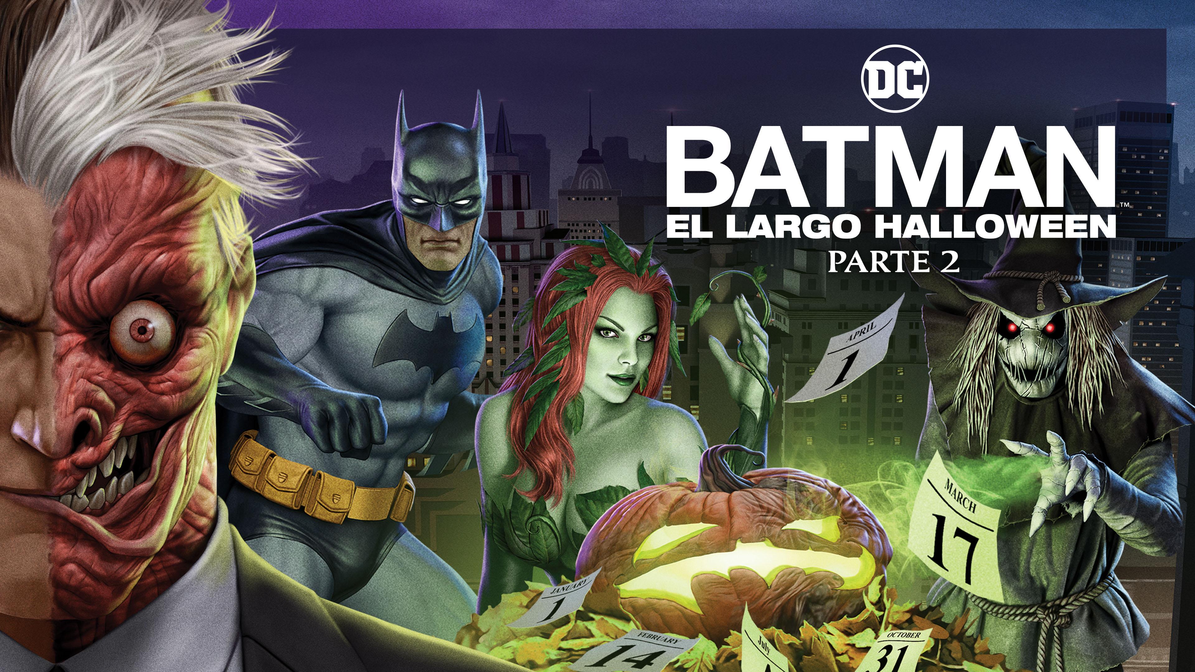 batman, largo halloween, DC, animated, WB, peliculas animadas