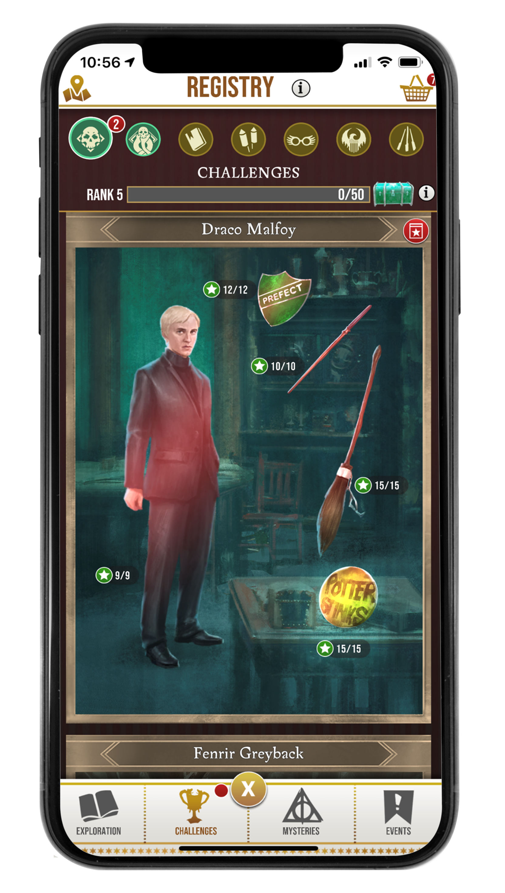 HPWU, HARRY POTTER, MOBILE, WIZARDING WORLD