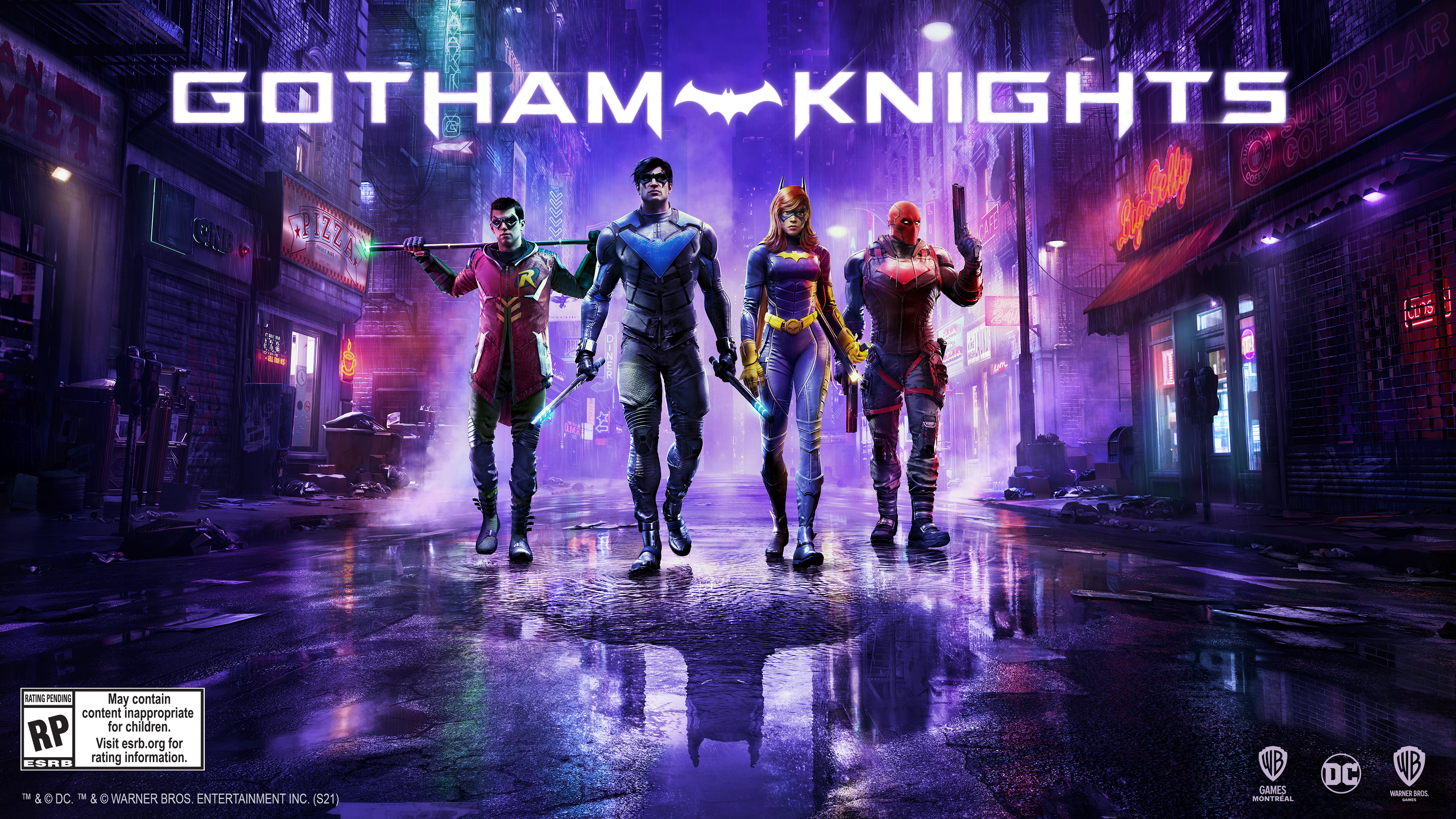 GOTHAM KNIGHTS, DC, WB GAMES, RED HOOD, NIGHT WING, COURT OF OWLS