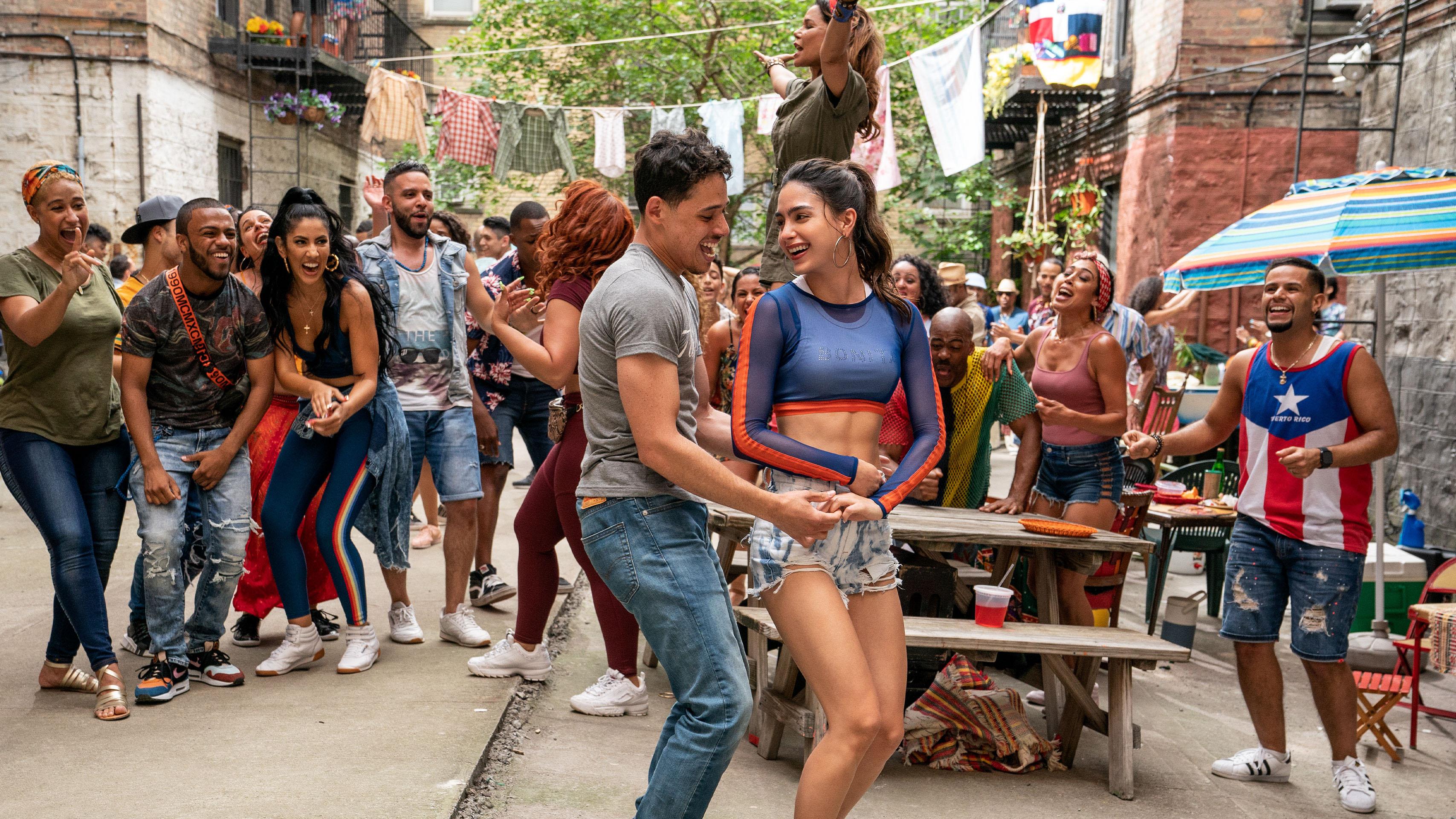 In the heights, en el barrio, musical, movie, warner bros