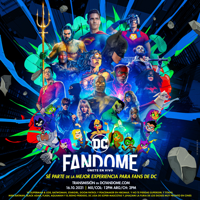 DC Fandome, DC, DCcomics