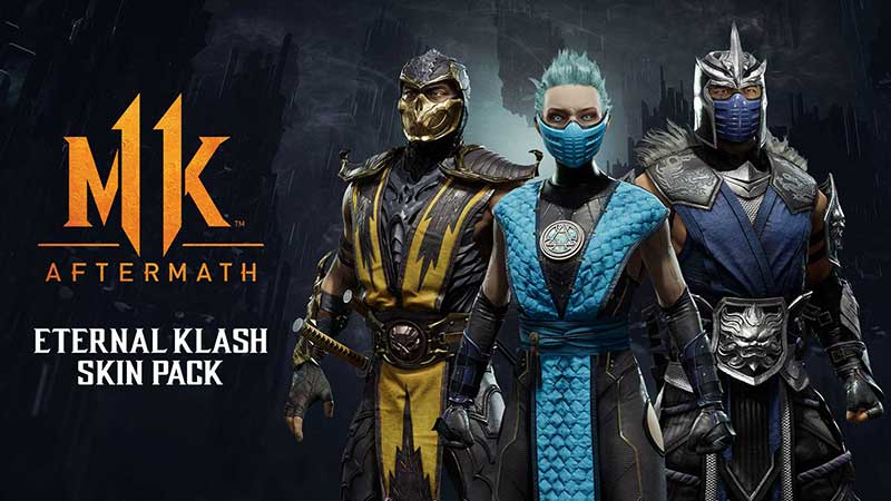 Mortal Kombat Eternal Klash Skin Pack