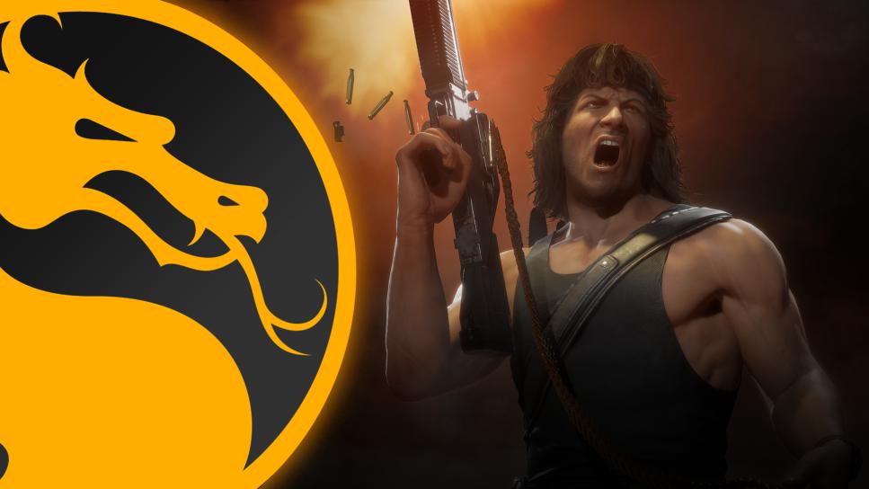 MK11, Ultimate, Rambo, MK11 rain
