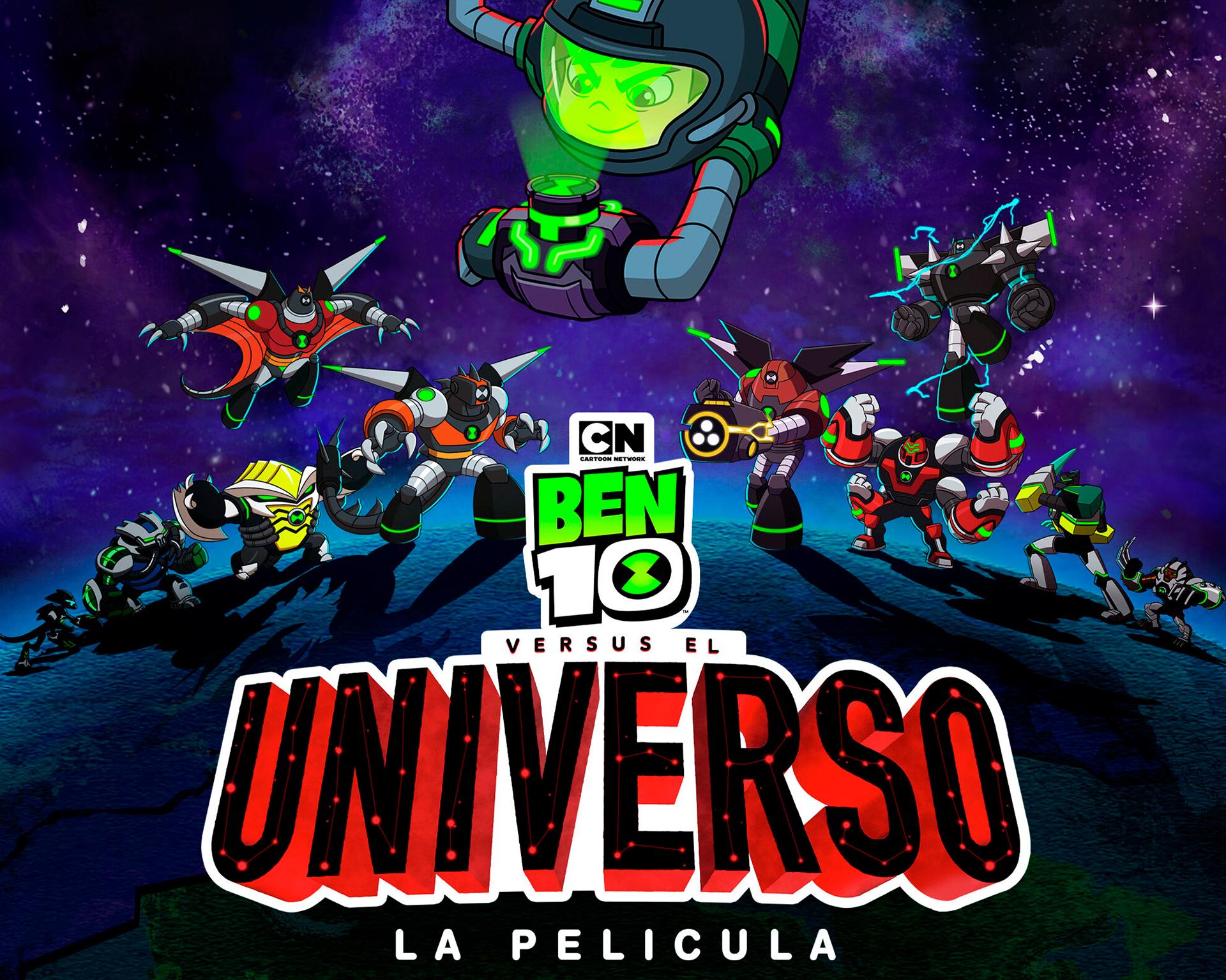Ben 10 versus el Universo