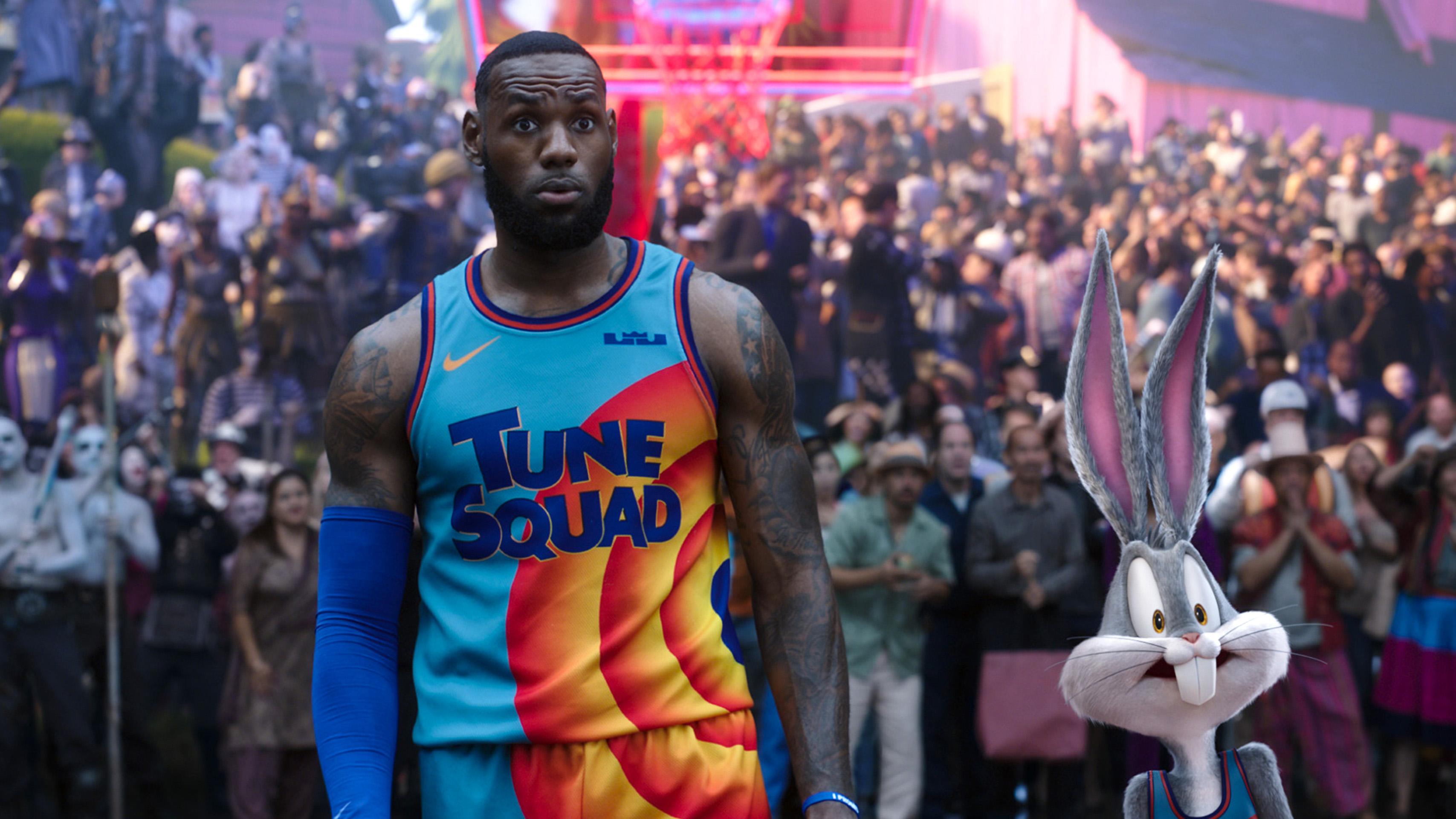 Space Jam, nueva era, Looney Tunes, LeBron, LeBron James, Bugs Bunny