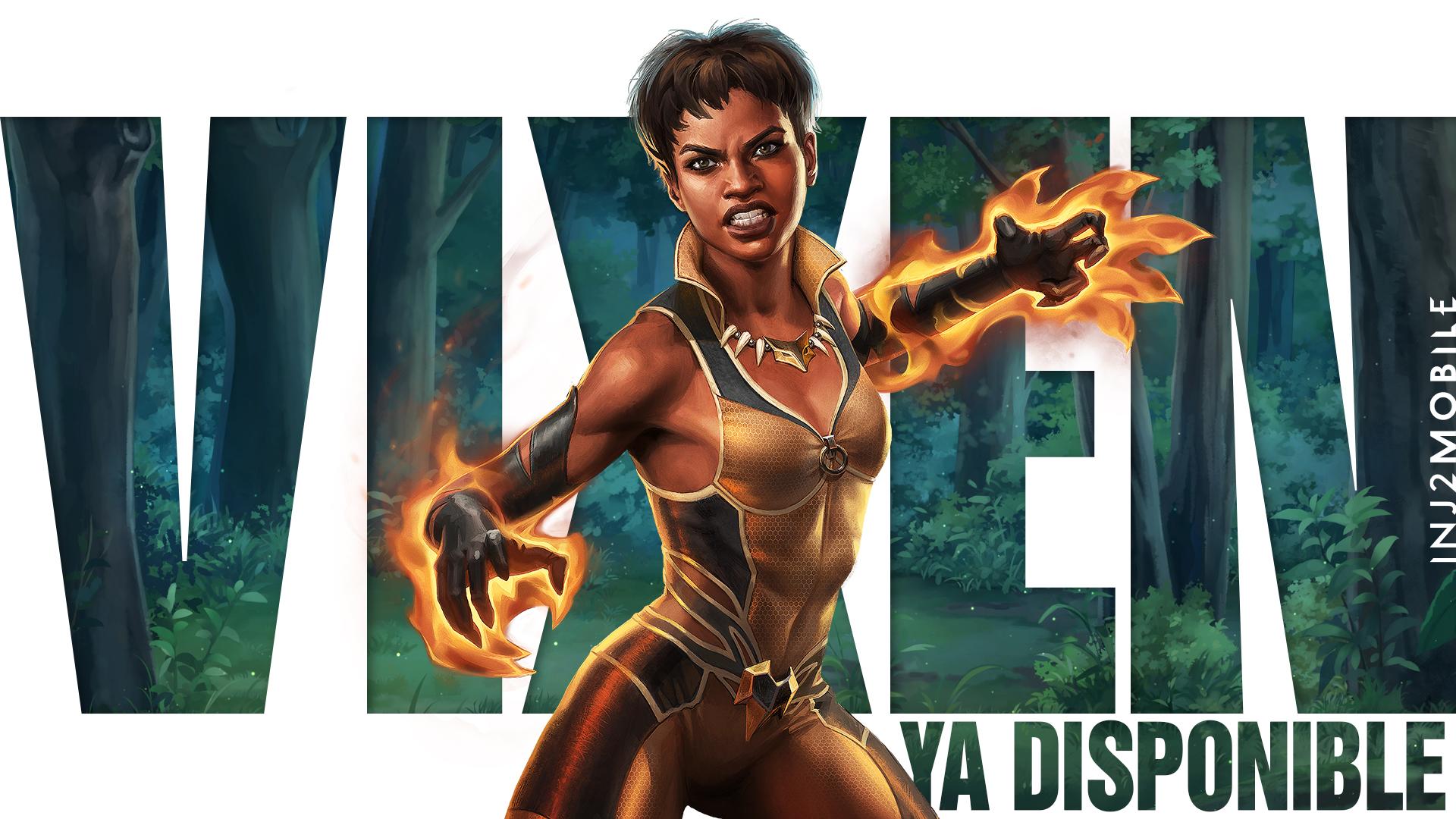 Vixen, injustice 2, injustice mobile, DC